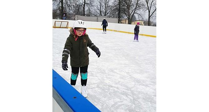 Miesto čiuožykloje