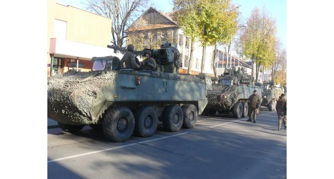 Molėtai keletą valandų buvo Belgijos karinės technikos ekspozicijos vieta