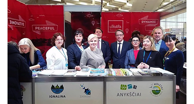 Molėtų turizmo ištekliai pristatyti Baltarusijoje